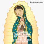 Oración Virgen de Guadalupe