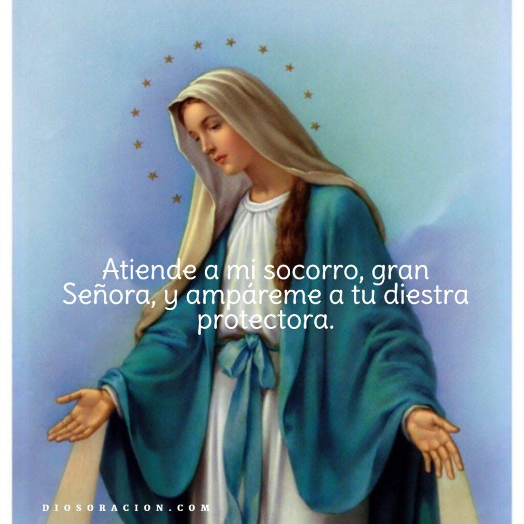 Oración a la Virgen Milagrosa