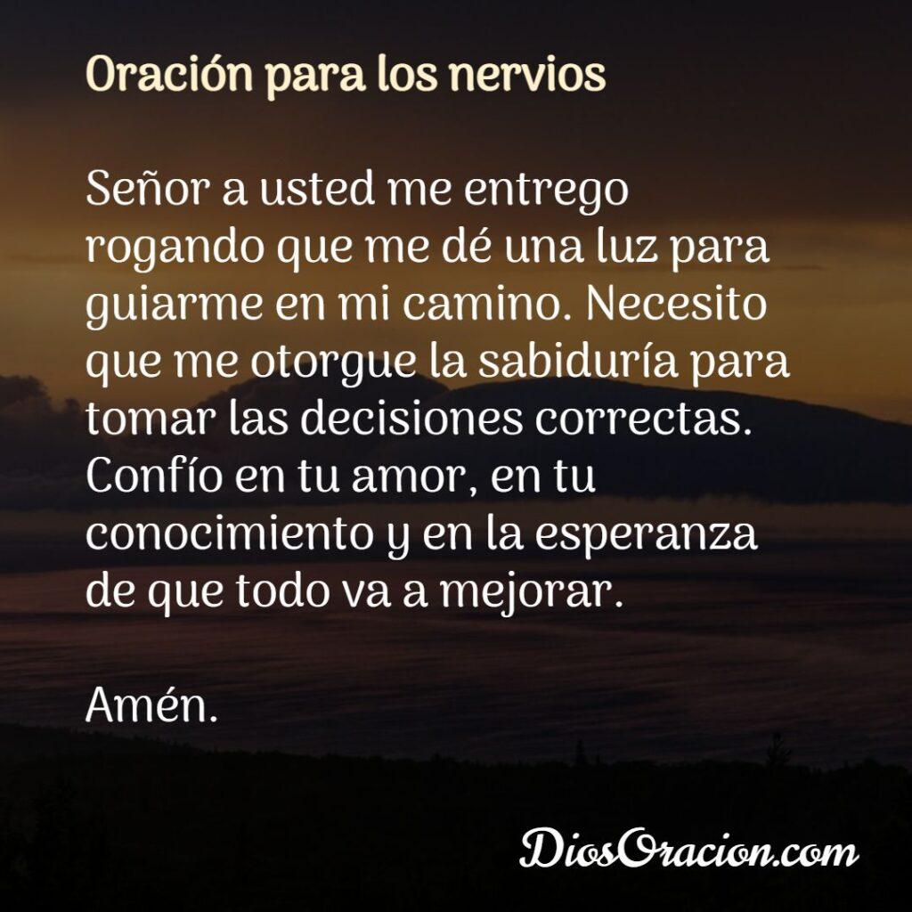 Salmo para Tranquilizar los Nervios