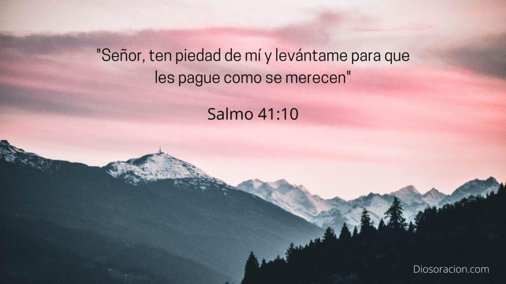 Salmo de Sanación 41