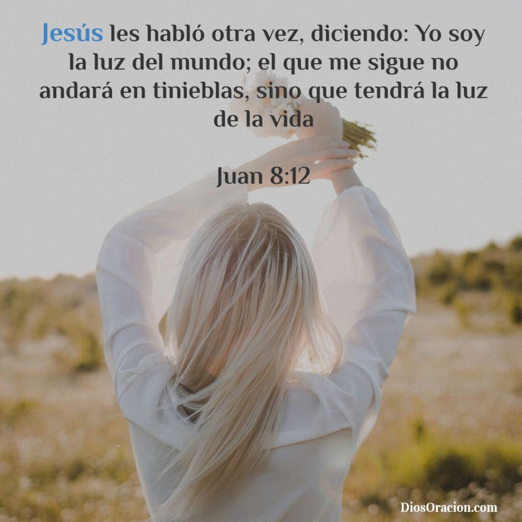 Jesús es el centro Versículo de Bendición