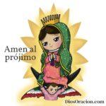 La Virgen de Guadalupe Dibujo